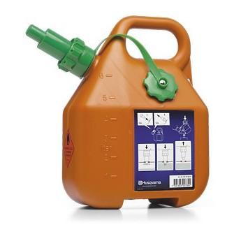 Kanystr na benzín, 6 litrů, oranžový